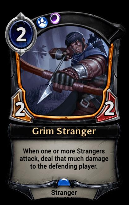 Card image for Grim Stranger