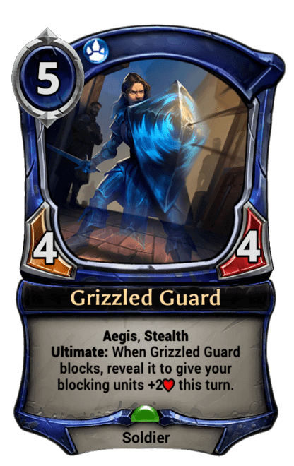 Card image for Grizzled Guard