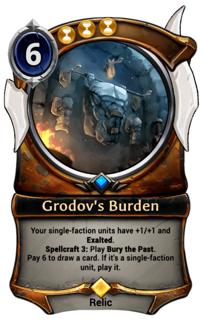 Card image for Grodov's Burden