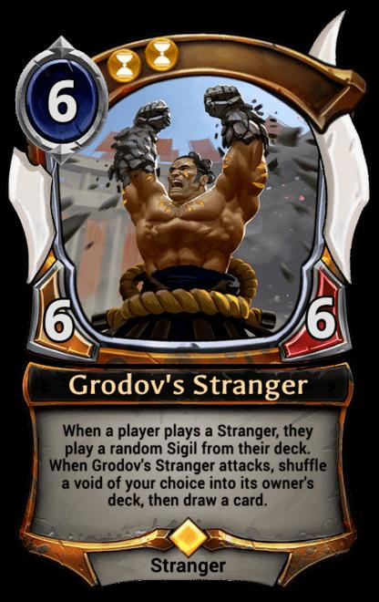 Card image for Grodov's Stranger