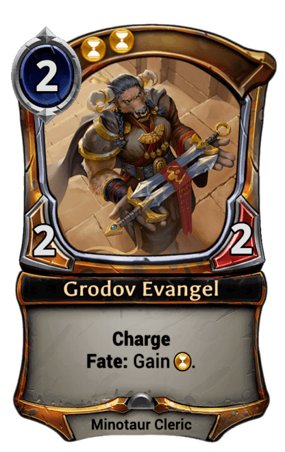 Card image for Grodov Evangel