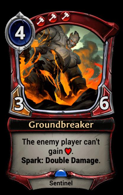 Card image for Groundbreaker