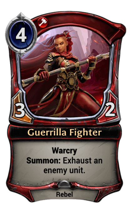 Card image for Guerrilla Fighter