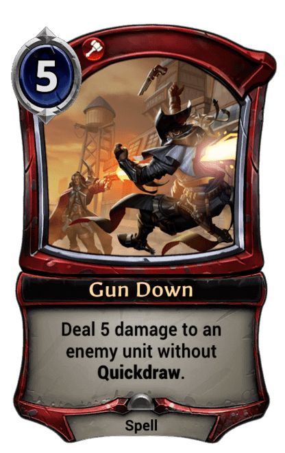 Card image for Gun Down