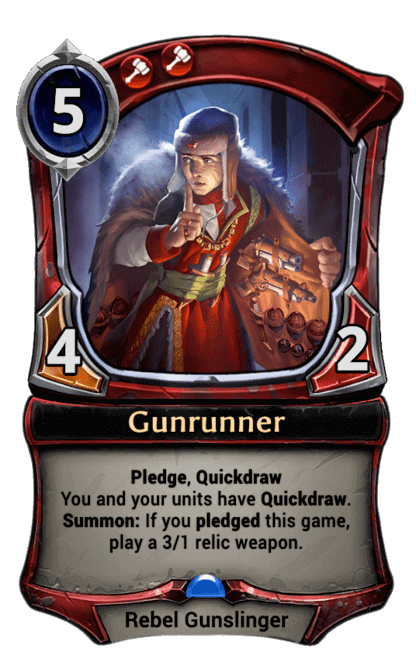 Card image for Gunrunner
