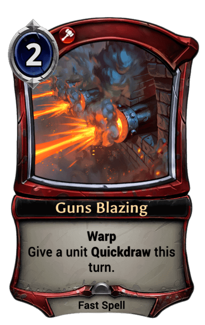 Card image for Guns Blazing