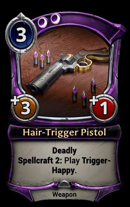 Card image for Hair-Trigger Pistol