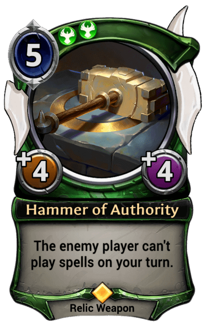 Card image for Hammer of Authority
