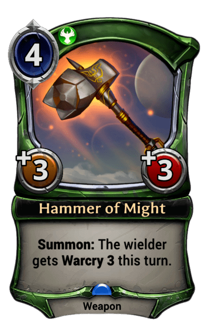 Card image for Hammer of Might