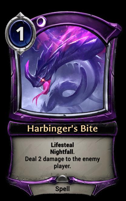 Card image for Harbinger's Bite