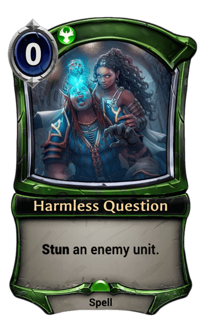 Card image for Harmless Question