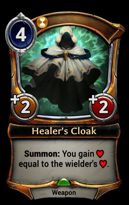 Card image for Healer's Cloak