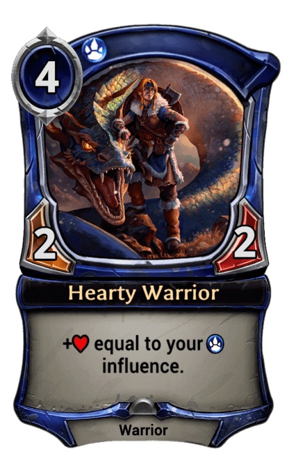 Card image for Hearty Warrior