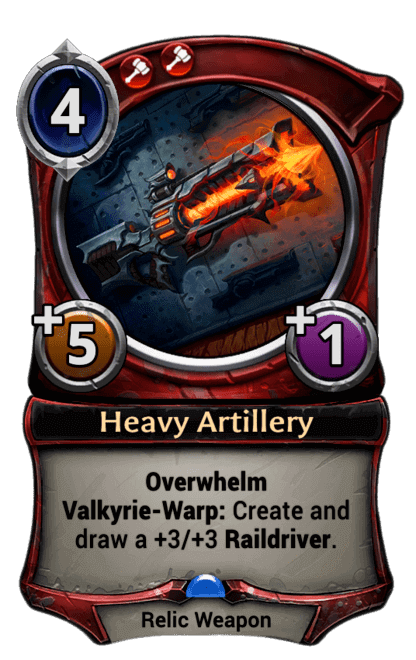 Card image for Heavy Artillery