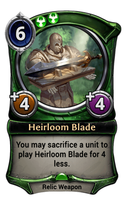 Card image for Heirloom Blade