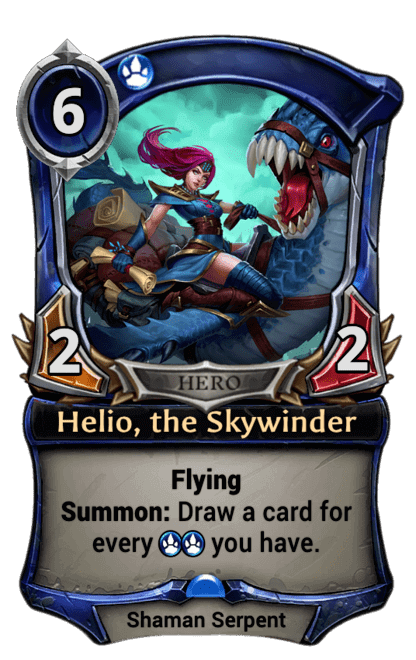 Card image for Helio, the Skywinder