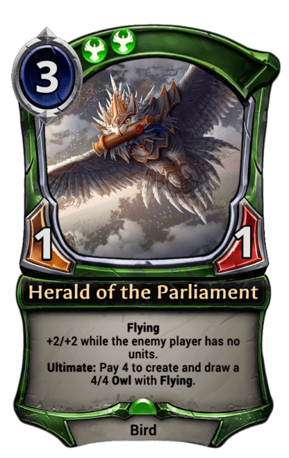 Card image for Herald of the Parliament