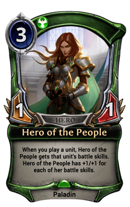 Card image for Hero of the People