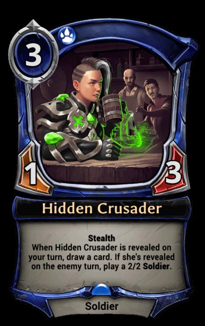 Card image for Hidden Crusader
