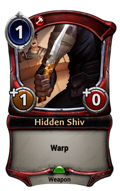 Card image for Hidden Shiv