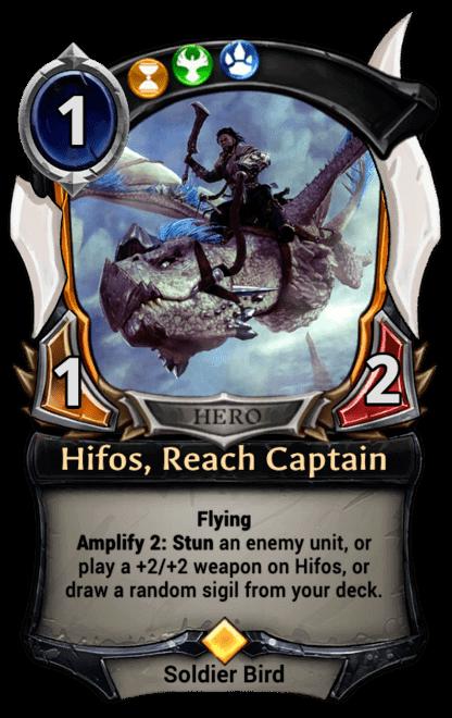 Card image for Hifos, Reach Captain