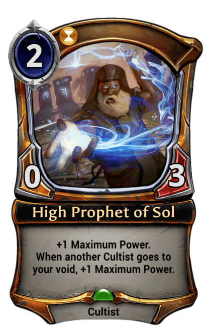 Card image for High Prophet of Sol