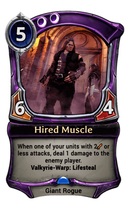 Card image for Hired Muscle