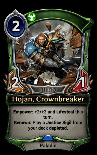 Card image for Hojan, Crownbreaker
