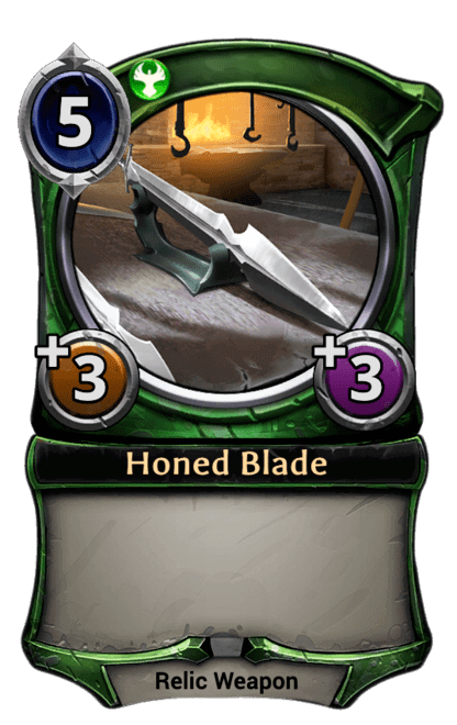 Card image for Honed Blade