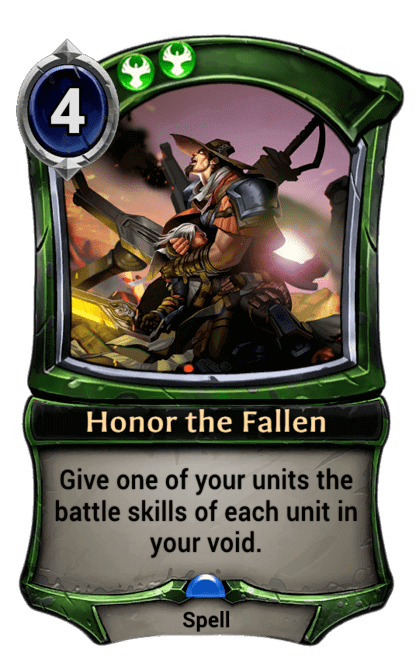 Card image for Honor the Fallen