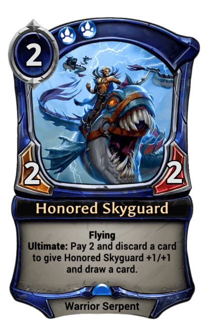 Card image for Honored Skyguard