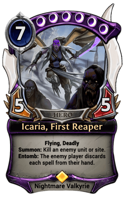 Card image for Icaria, First Reaper