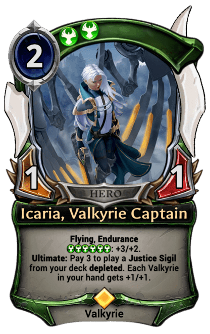 Card image for Icaria, Valkyrie Captain