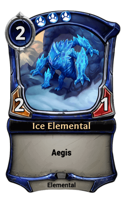 Card image for Ice Elemental