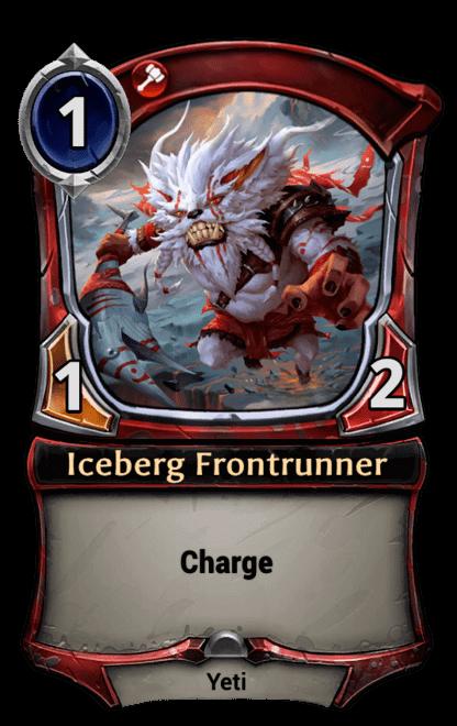 Card image for Iceberg Frontrunner