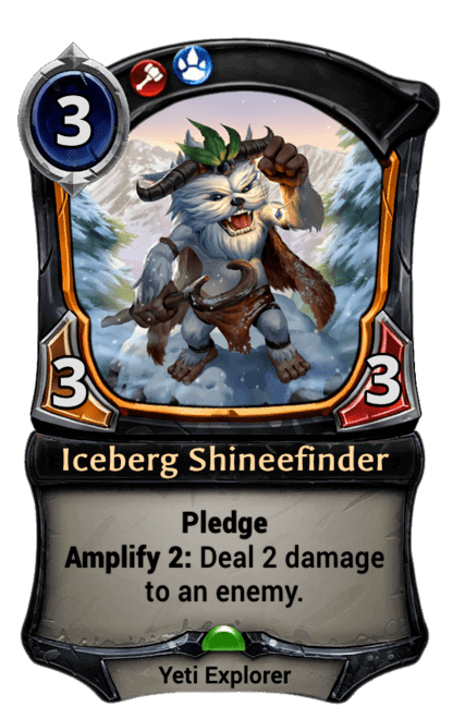 Card image for Iceberg Shineefinder