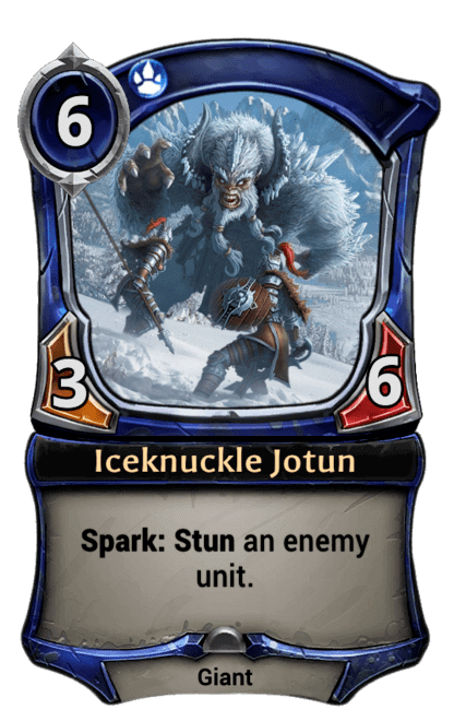Card image for Iceknuckle Jotun