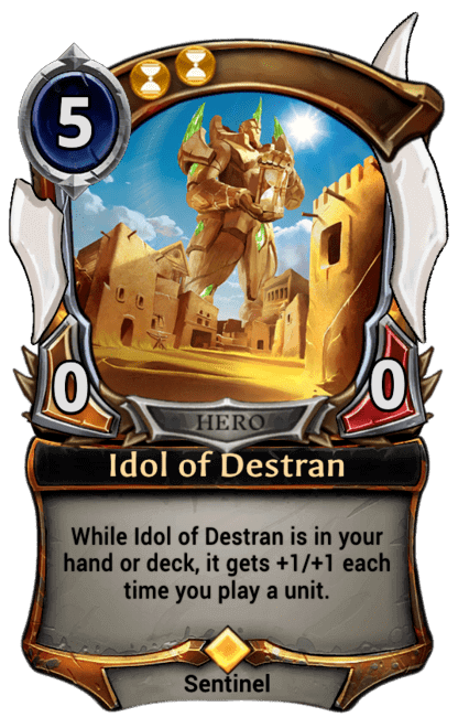 Card image for Idol of Destran