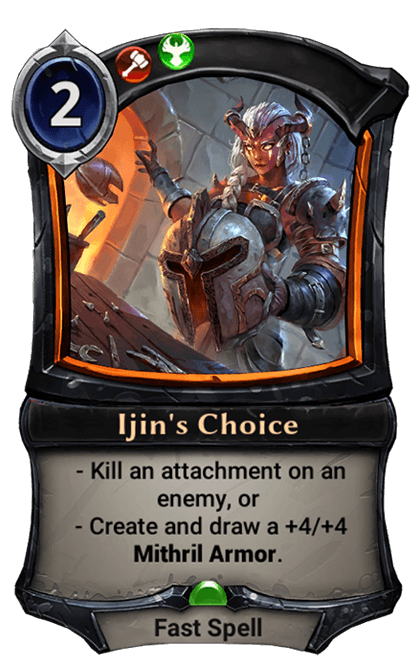 Card image for Ijin's Choice