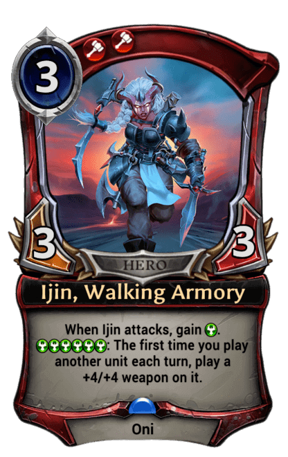 Card image for Ijin, Walking Armory