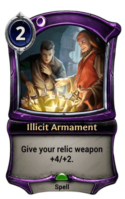 Card image for Illicit Armament