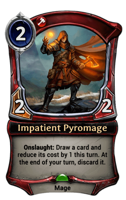 Card image for Impatient Pyromage