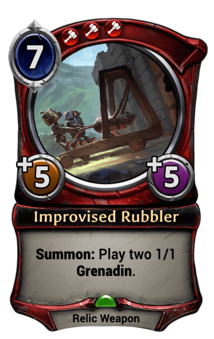 Card image for Improvised Rubbler