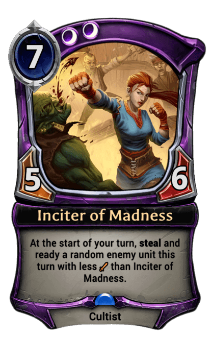 Card image for Inciter of Madness