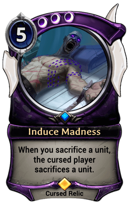 Card image for Induce Madness
