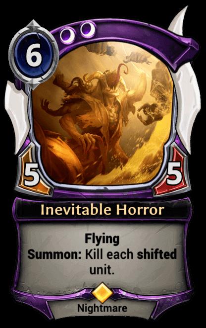Card image for Inevitable Horror