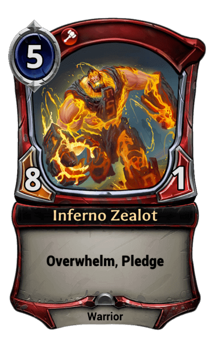 Card image for Inferno Zealot