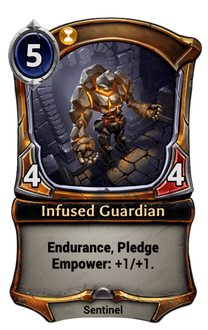 Card image for Infused Guardian