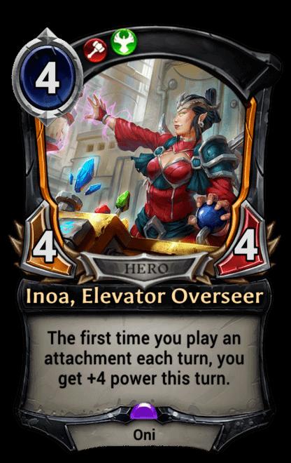 Card image for Inoa, Elevator Overseer