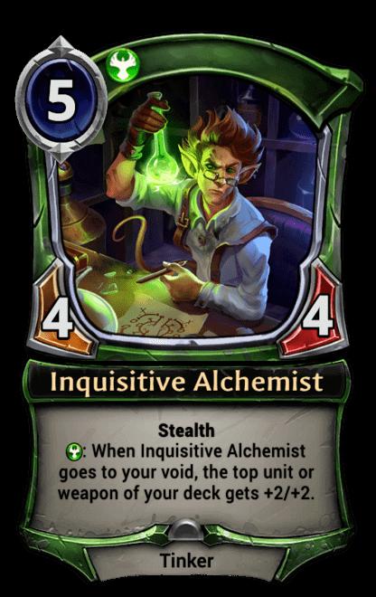 Card image for Inquisitive Alchemist